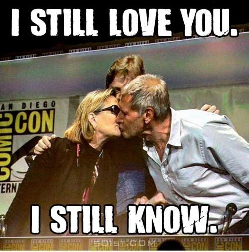 geek memes star wars i still love you sdcc 2015