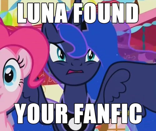 princess luna,nightmare,fanfic