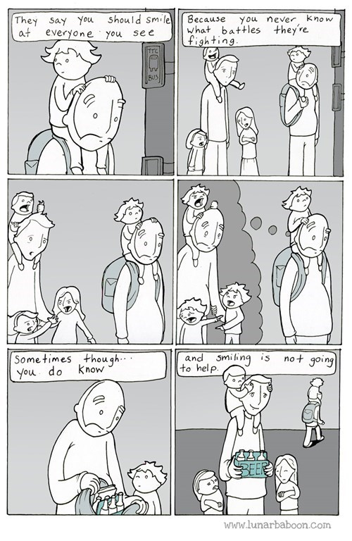 funny-web-comics-smiling-at-strangers-is-nice-but-this-is-how-you-make-a-positive-change-in-someones