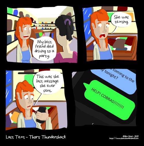 funny-web-comics-texting-is-dangerous