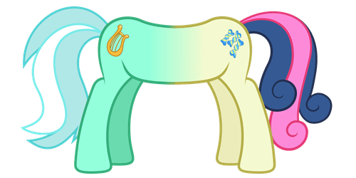 lyra heartstrings MLP best pony bon bon - 8533692672