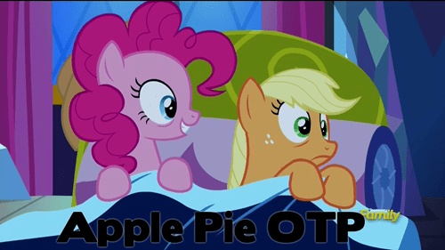 applejack,otp,pinkie pie,ship it