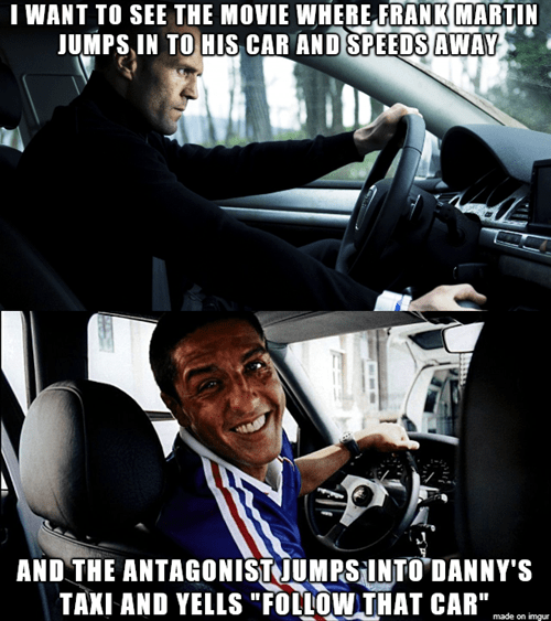 Dat car chase