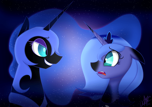 nightmare moon,Fan Art,princess luna