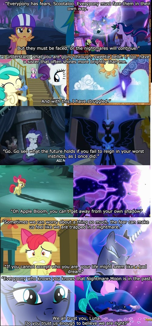nightmare moon foreshadow princess luna - 8535334656