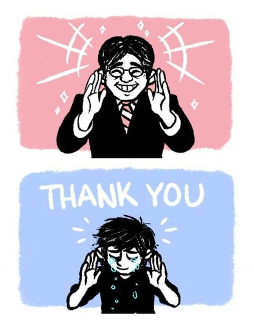 Cartoon - THANK YOU
