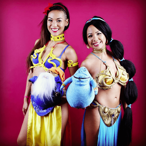 disney princess slave leia cosplay