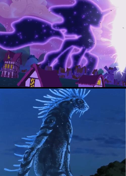 princess luna,princess mononoke