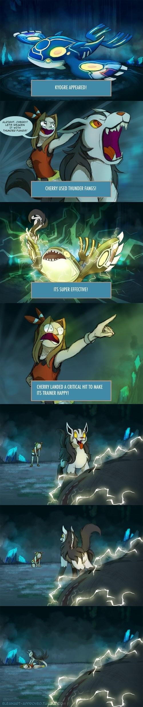 pokemon memes kyogre faints