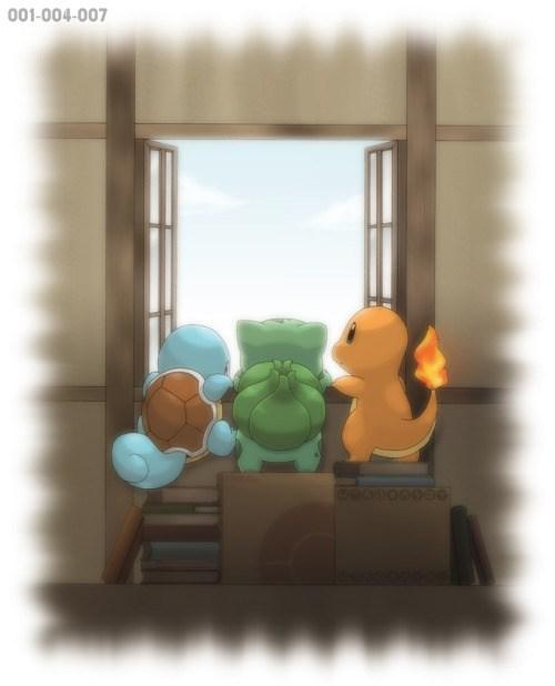 pokemon memes starters fan art