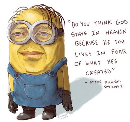 cartoon memes despicable me minions steve buscemi