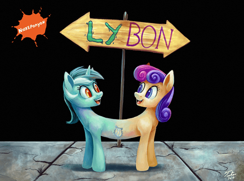 Alone in the World is a Little LyBon