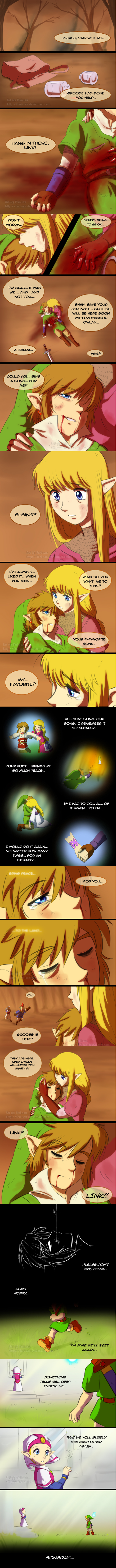 link legend of zelda zelda web comics - 8537917952