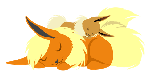 Fan Art eevee flareon - 8538188800