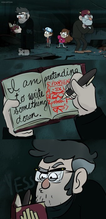 cartoon memes gravity falls poophead