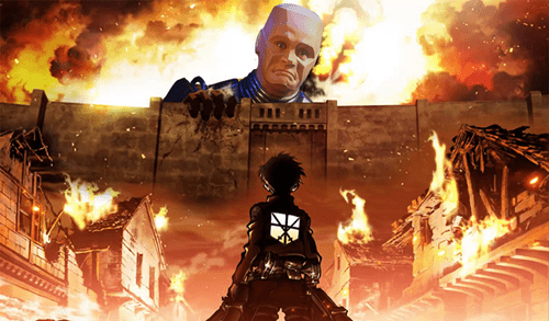 crossover,anime,attack on titan,red dwarf
