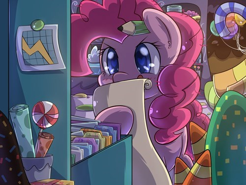 Fan Art pinkie pie party planner - 8538770176