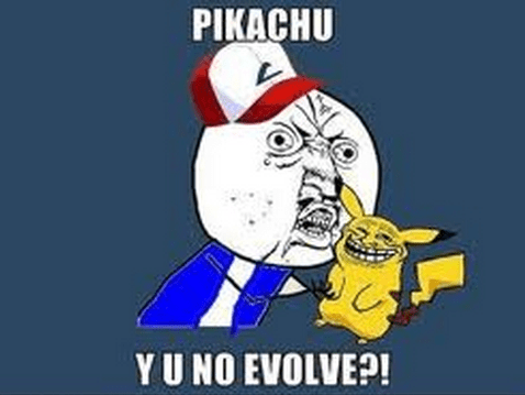 Pokémon,Y U No Guy