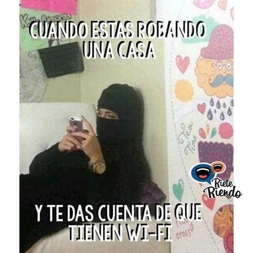 te robas el wifi