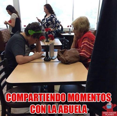 momentos con la abuela