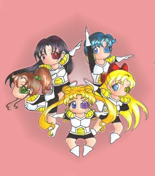 anime Dragon Ball Z sailor moon - 8539620352
