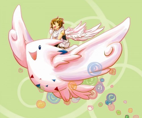 pokemon memes kid icarus togekiss fan art