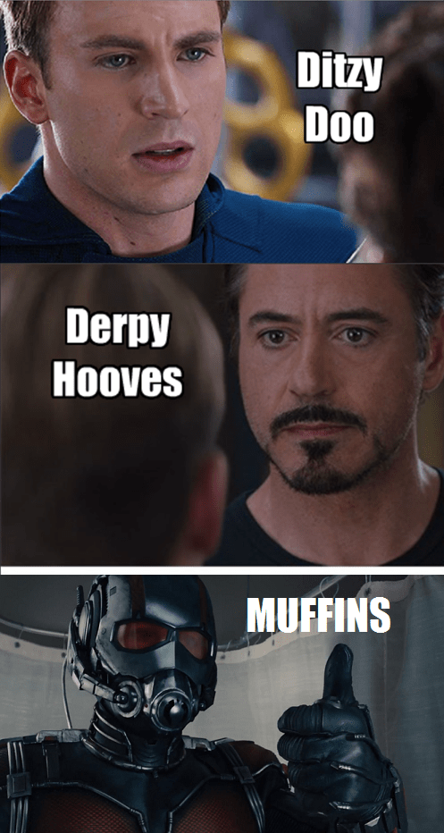marvel derpy hooves ant man civil war - 8539758336