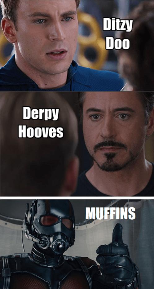 marvel derpy hooves civil war - 8539758336