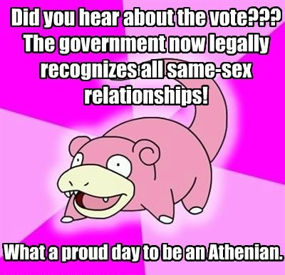 gay marriage slowpoke - 8539911936