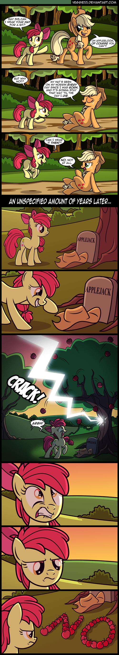 applejack apple bloom hat - 8540029184