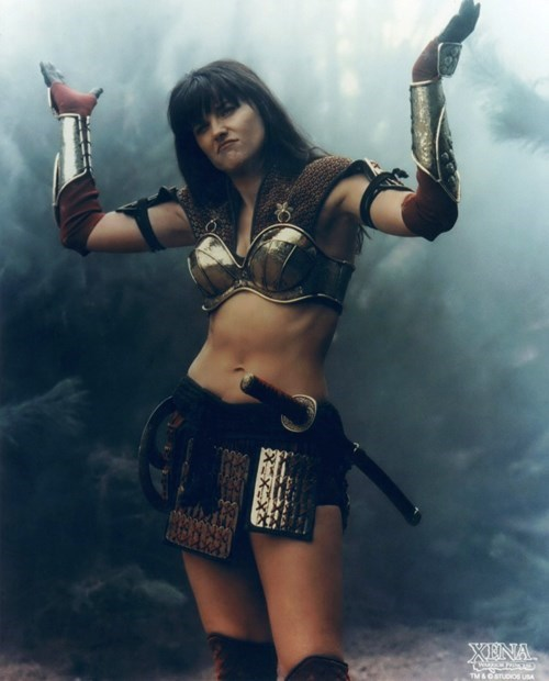 Xena the Warrior Princess is coming back, apparently.