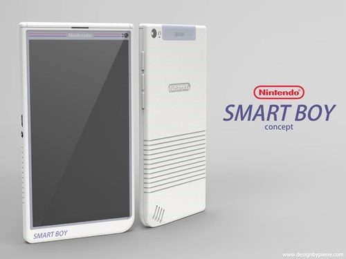 This Nintendo phone mock up is what you want.