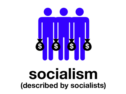 Text - $ socialism (described by socialists)