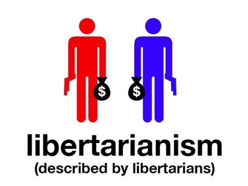 Text - $ libertarianism (described by libertarians)