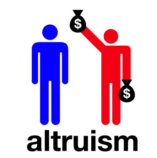 Line - $ $ altruism