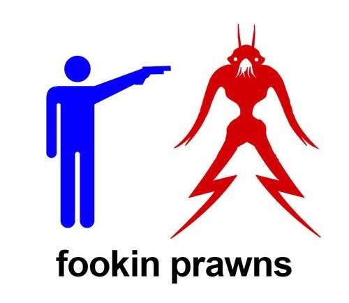 Logo - fookin prawns