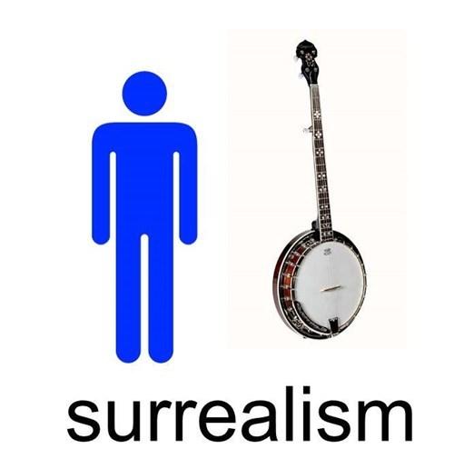 Banjo - surrealism