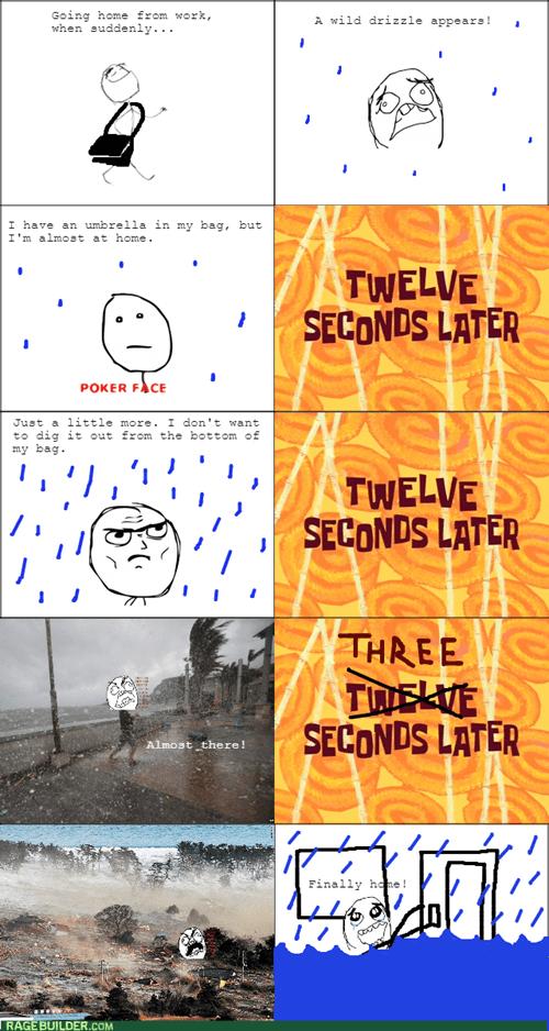 umbrella rain flood - 8540618752