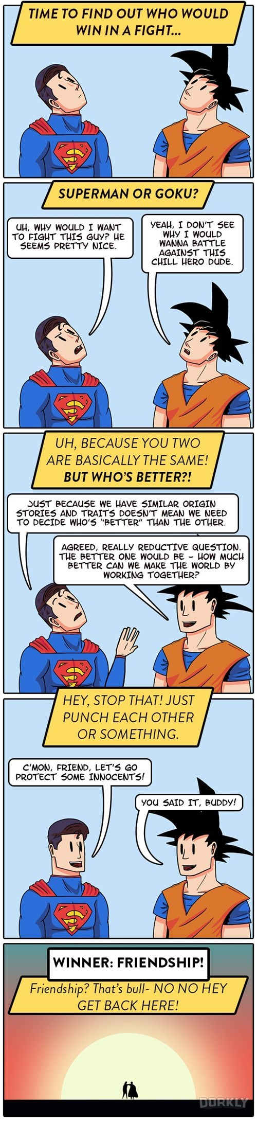 superheroes-superman-dc-vs-goku-dorkly-comic