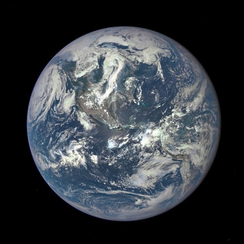 Nasa releases a new picture of earth.