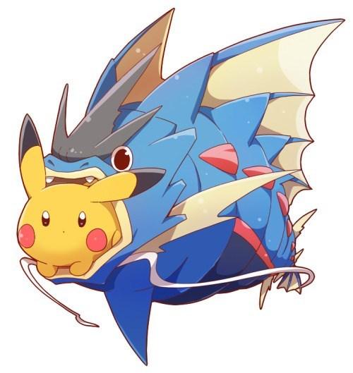 pokemon memes pikachu mega gyarados