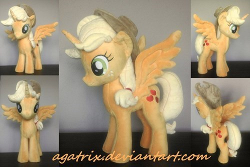applejack Plushie alicorn princess - 8540964608