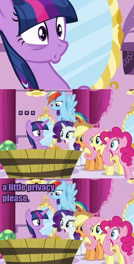 mane 6 private moments twilight sparkle - 8541090560