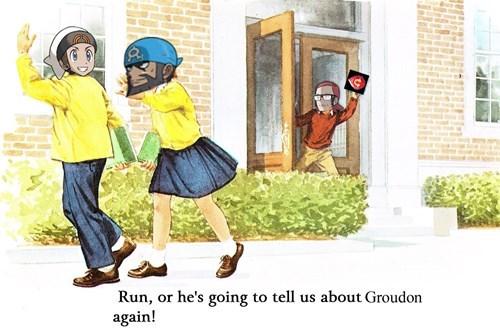 pokemon memes run tell us about groudon