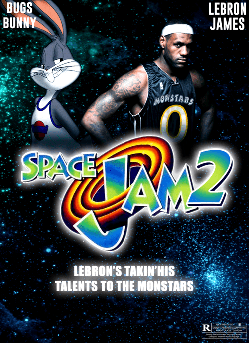 LeBron James might be starring in a new Space Jam?