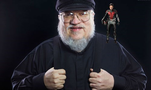 George R. R. Martin is too busy writing about Ant-Man to write the next Game of Thrones book.