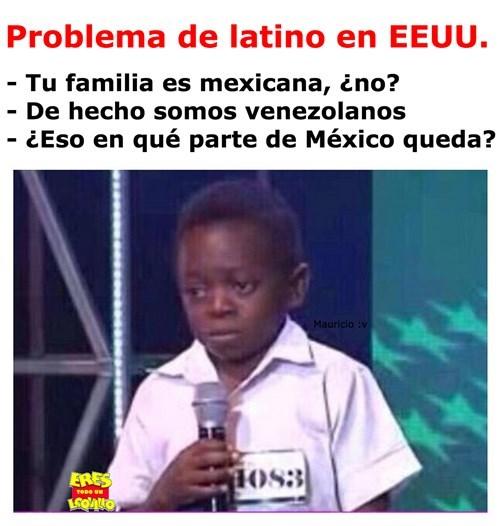 problema latino