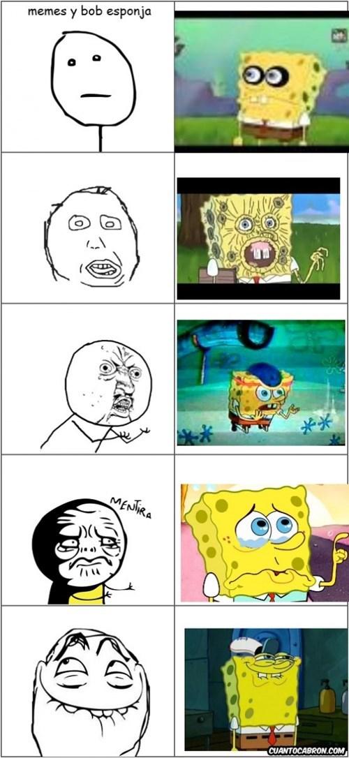 bob esponja y los memes