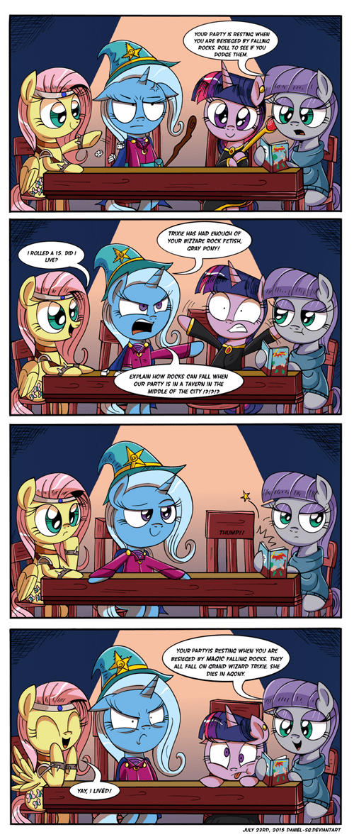 Fan Art MLP maud pie dungeons and dragons - 8541569024