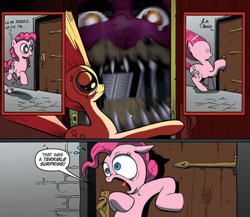 old memes,fnaf,jump scare,terrible surprise,pinkie pie